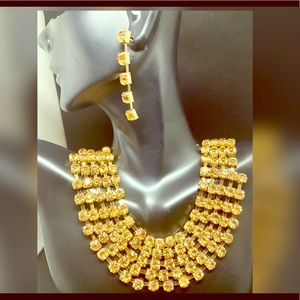 Bridal jewelry set Earring & necklace